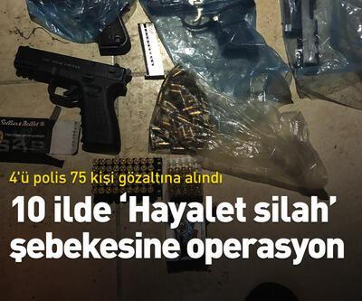 İstanbul merkezli 10 ilde silah kaçakçılığı operasyonu
