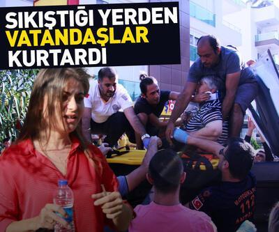 Kazada yaralananlara vatandaşlar yardım etti