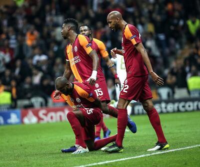 Galatasaray Courtois'yı geçemedi
