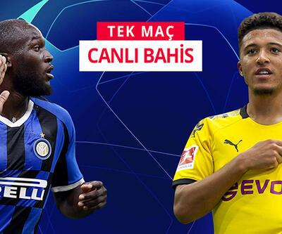 Inter-Dortmund maçına Misli.com'da CANLI OYNA!