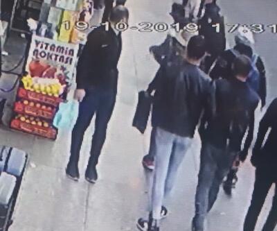 Taksim Meydanı'nda polis kovaladığı kapkaç şüphelisini böyle yakaladı