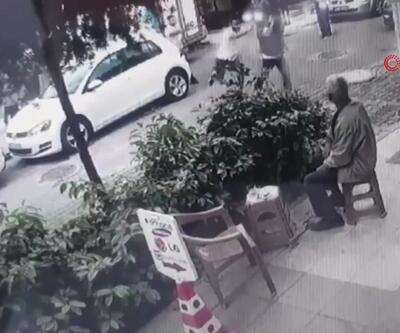 Taciz şüphelisinidövüp polise teslim ettiler