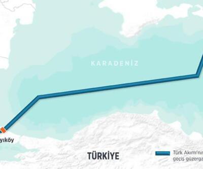 Türk Akım projesinde Rus doğalgazı Kıyıköy'e ulaştı