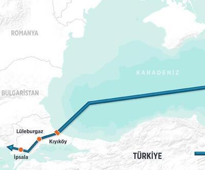 Rus doğalgazı Kıyıköy'e ulaştı