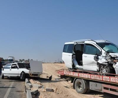 Gaziantep'te kaza: 3 yaralı