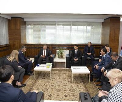Özbekistan heyetinden Başkan Büyükkılıç'a ziyaret