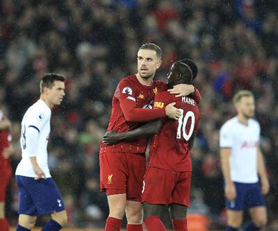 Liverpool Tottenham'ı da devirdi