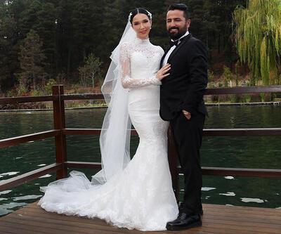 Manken Elif Ece Uzun evlendi
