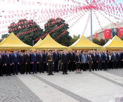 Gaziantep'te Cumhuriyet Bayramı kutlaması