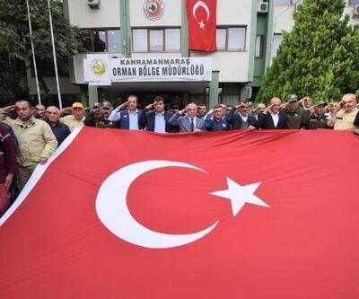 Ormancılardan Mehmetçiğe selam