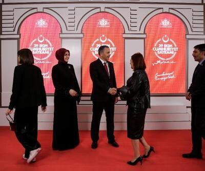 İstanbul'da Cumhuriyet Bayramı Kabul Töreni...