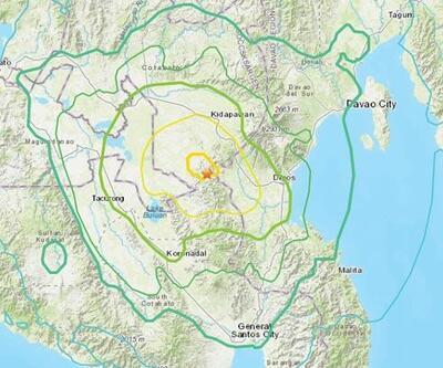 Filipinler'de 6,6 büyüklüğünde deprem