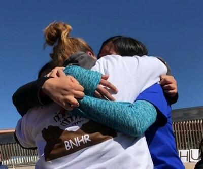 ABD-Meksika sınırında duygusal eylem
