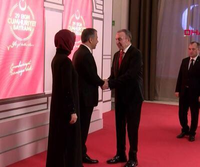 İstanbul'da Cumhuriyet Bayramı kabul töreni