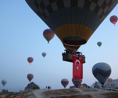 Balonlar, Cumhuriyet Bayramı için havalandı