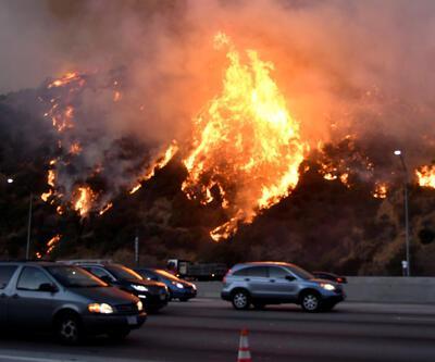 ABD'deki yangın büyüyor: Dünyaca ünlü yıldızlar bölgeden kaçıyor