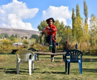 Derya, Avrupa Şampiyonası'na köyünde hazırlanıyor