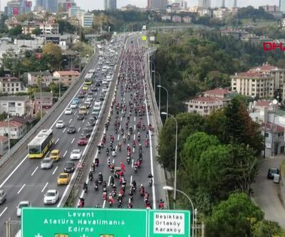 Motosikletlilerin son durağı Edirnekapı'ydı