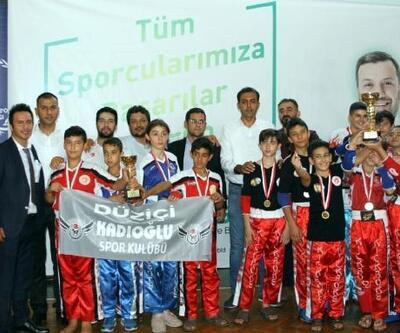 Kick Boks Cumhuriyet Kupası'na yoğun ilgi