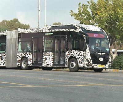 İstanbullulara yeni metrobüs