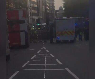 Londra'da 'kimyasal' alarm