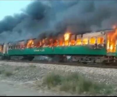 Son dakika... Pakistan'da tren faciası: En az 62 kişi hayatını kaybetti
