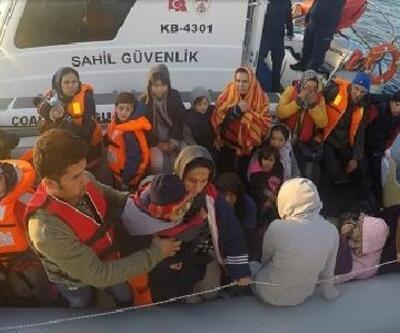Çanakkale'de 76'sı çocuk, 147 kaçak göçmen yakalandı