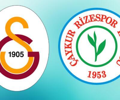 Galatasaray Rizespor maçı ne zaman, saat kaçta, hangi kanalda?