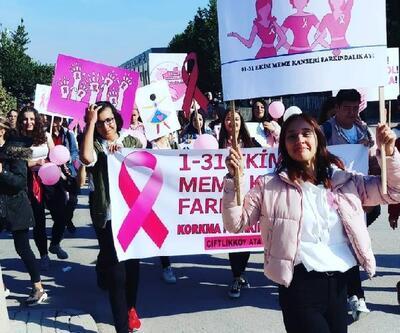 Gençlerden meme kanseri farkındalığı