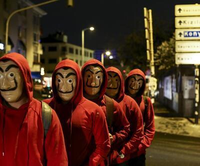 Ankara'da sıra dışı Cadılar Bayramı etkinliği