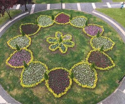Kocasinan, çiçeklerle renklendirildi