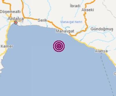 Son dakika... Antalya'da 4,0 büyüklüğünde deprem