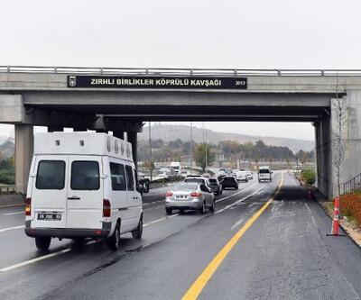 ZırhlıBirlikler Kavşağı altındaki yol trafiğe açıldı