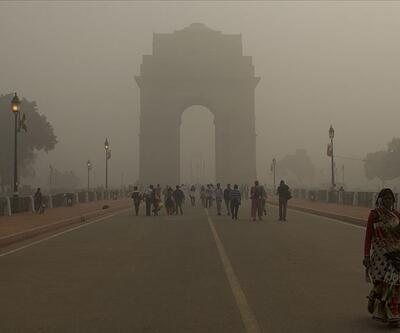 Hindistan'da hava kirliliği sebebiyle acil durum ilanı