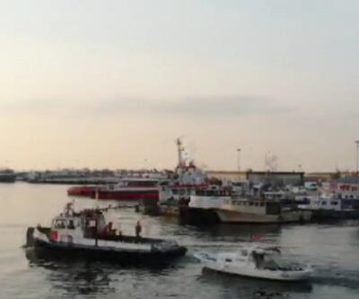 Tekneye uyuşturucu operasyonu