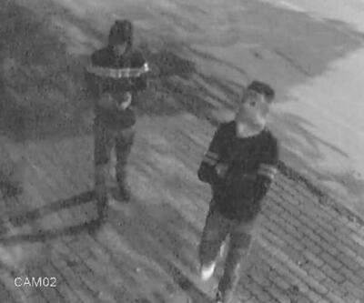 Kütahya'da, hırsızlık şüphelileri kameraya yakalandı