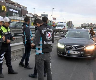 İstanbul'da çakar lamba denetimi