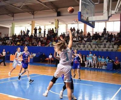 Tarsus Belediyespor Kadın Basketbol Takımı sezonun ilk galibiyetini aldı
