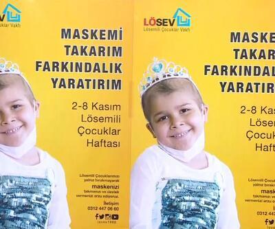 LÖSEV'den maskeli farkındalık kampanyası