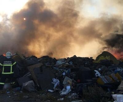Hurdacılar Sitesi'nde yangın büyümeden söndürüldü