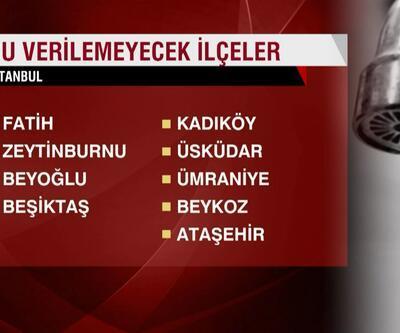 Su kesintisi başladı! İstanbul'da sular ne zaman gelecek? İSKİ saat verdi!