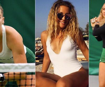 Kortların 'Yeni Sharapova'sı: Klara Mrcela