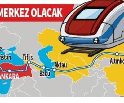 Ankara'dan Avrupa yolculuğuna! Orta koridor ticareti başladı