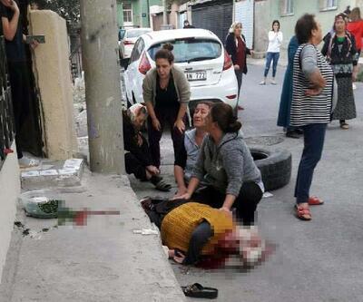 Çocukların yuvarladığı lastik 2 kadına çarptı: 1 ölü, 1 yaralı