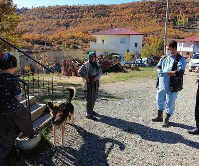 Kuduz tespit edilen mahalle karantinaya alındı