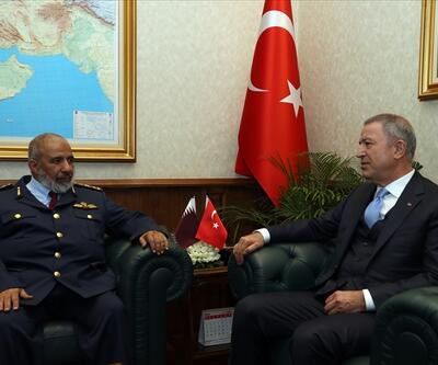 Bakan Akar, Katar Genelkurmay Başkanı ile görüştü