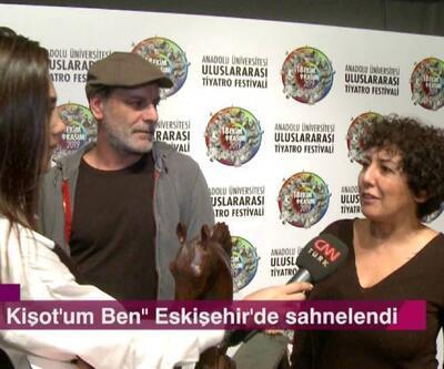 """""""Don Kişot'um Ben"""" tiyatro oyununun başrol oyuncuları Afiş'e konuk oldu"""
