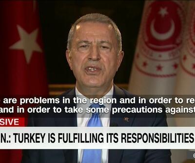 Bakan Akar'dan CNN'de önemli açıklamalar