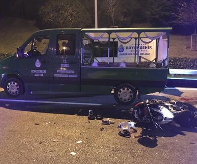 İstanbul'da feci kaza: Tabutu taşırken oldu