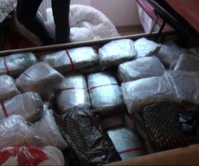 510 kilo uyuşturucu yakalandı